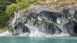 ...sind die Marmorhöhlen......