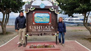 Angekommen in Ushuaia