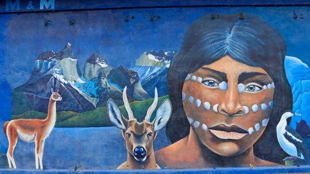 ...Landschaft und Geschichte Patagoniens.