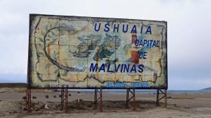 Für die Argentinier ist Ushuaia die Hauptstadt der Falklandinseln.