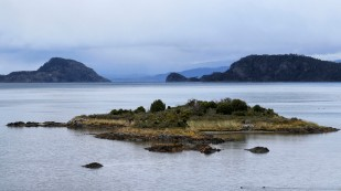 ...mit kleinen Inselchen...