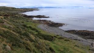 Blick über die Küste...