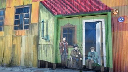 ......von Punta Arenas gezeigt.