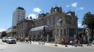 Prächtige Bauten an der Plaza