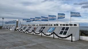 Eines der vielen Denkmäler für die Opfer des Falklandkrieges