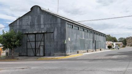Gebäude der alten Eisenbahngesellschaft
