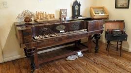 ...und Musikinstrumente...