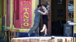 Natürlich darf Tango tanzen...