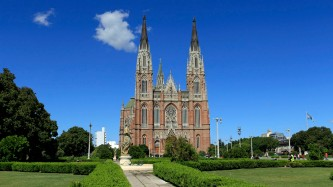 Die Kathedrale ist imposant...