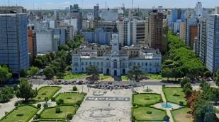 Blick auf die Plaza San Martin...