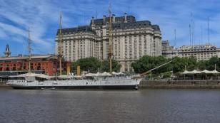 "Segelschiff ""Fragato Sarmiento"""