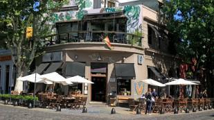 Gemütliche Cafés in Palermo...