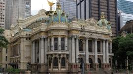 Teatro Municipal, der Pariser Oper nachempfunden