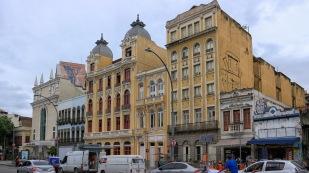 Im Viertel Lapa, der böhmischste Nachbarschaft von Rio de Janeiro....