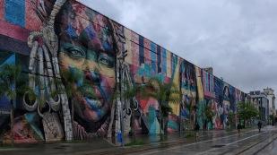 Das größte Graffiti der Welt, von Eduardo Kobra (3.000 m²)