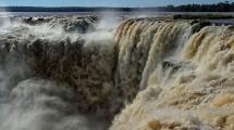 Die Wasserfälle von der argentinischen Seite aus...