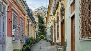 ...auch mit recht hübschen Häusern...