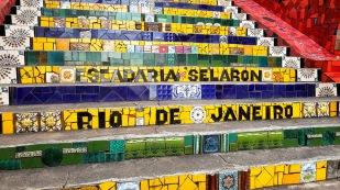 Die berühmten Stufen von Rio, die Selarón-Stufen