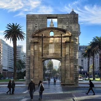 Puerta de la Ciudadela, Relikt der abgerissenen Zitadelle