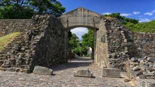Das Eingangstor - Portón de Campo