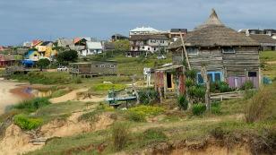 Häuser in allen Formen und Farben