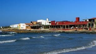 Am Meer gemütliche Restaurants...